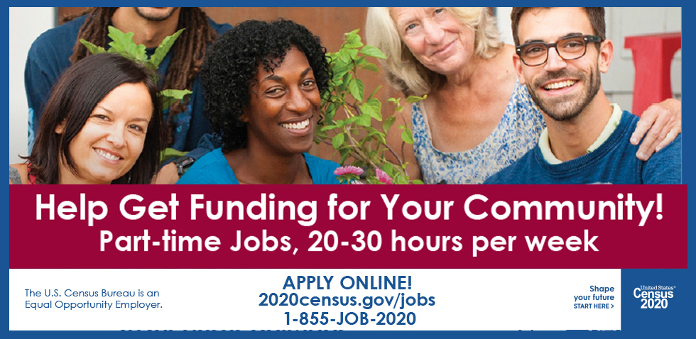 Census 2020 Job Opening