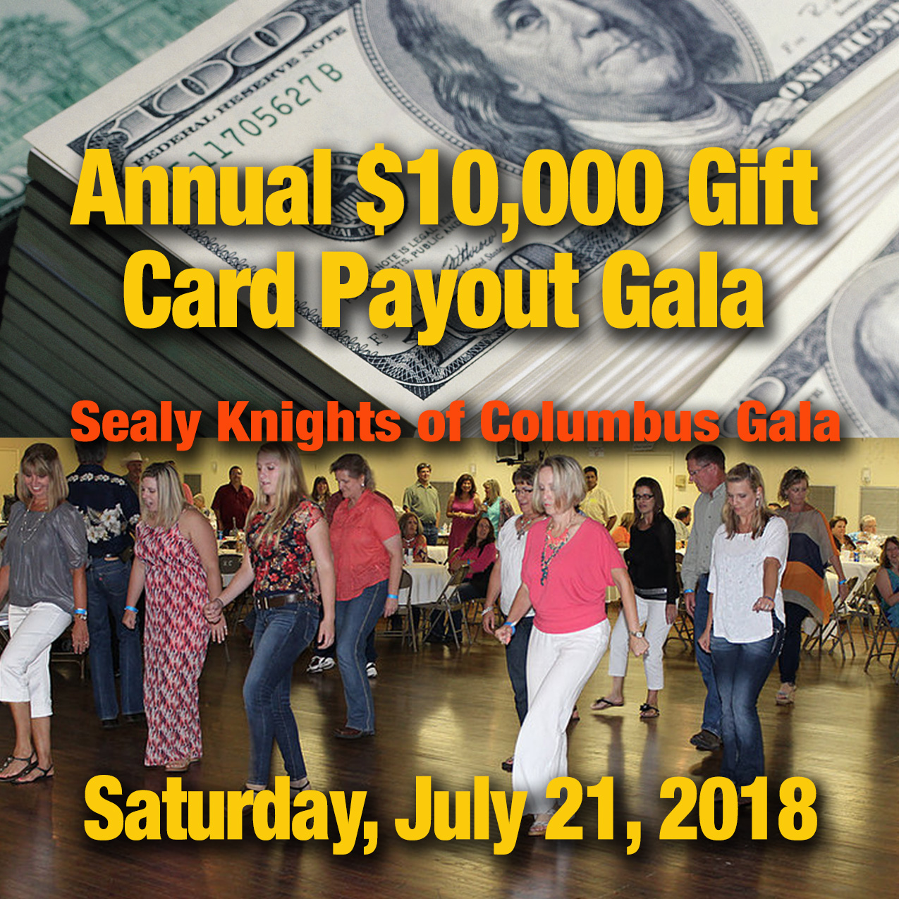 KCof Sealy $10,000 Payout