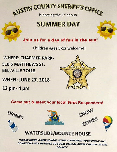 Sheriff Summer Fun Day