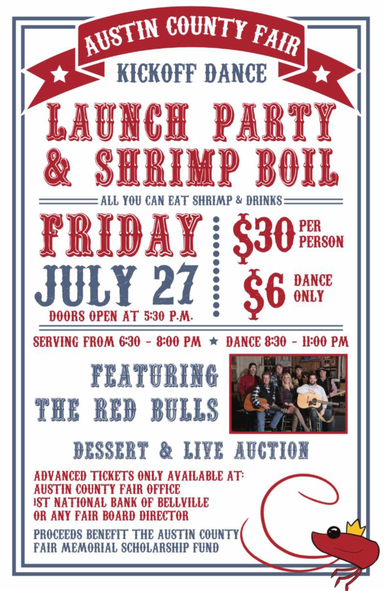 Austin County Shrimp Boil