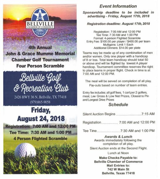 Bellville Golf Tournament