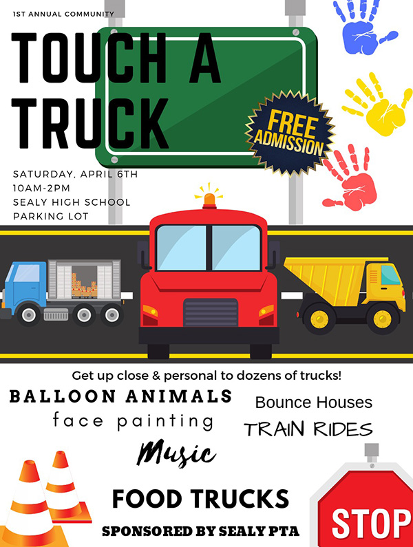 Touch A Truck in Sealy April 6