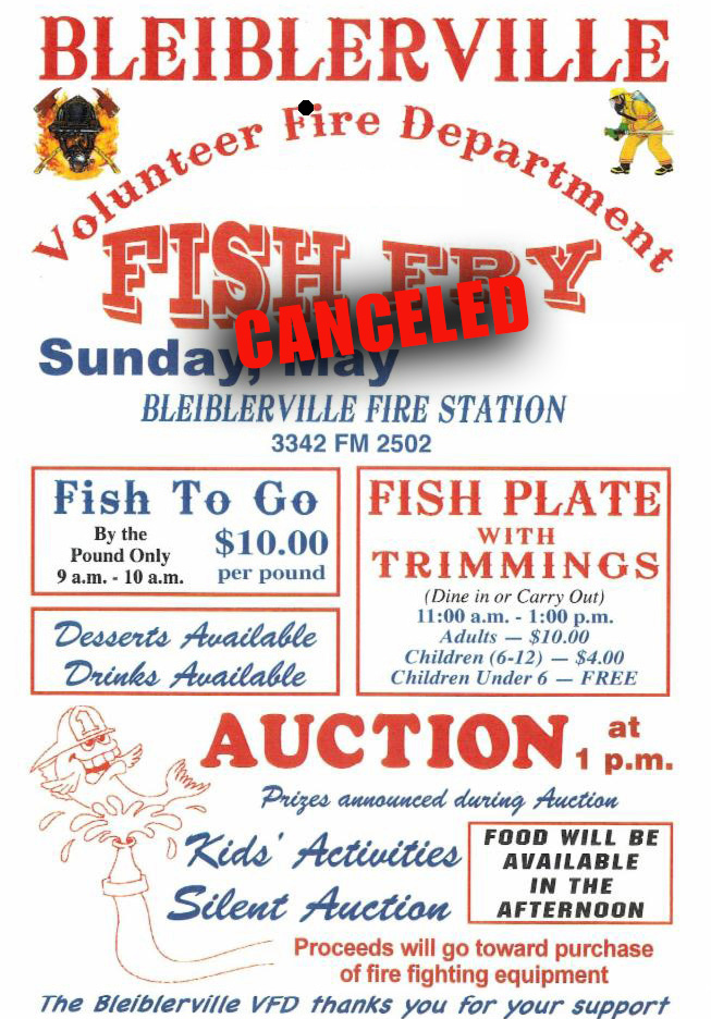 Blieblerville VFD Celebration