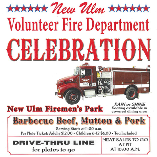 New Ulm Fire Department Celebration