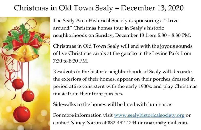 Small Town Christmas in Old Town Sealy