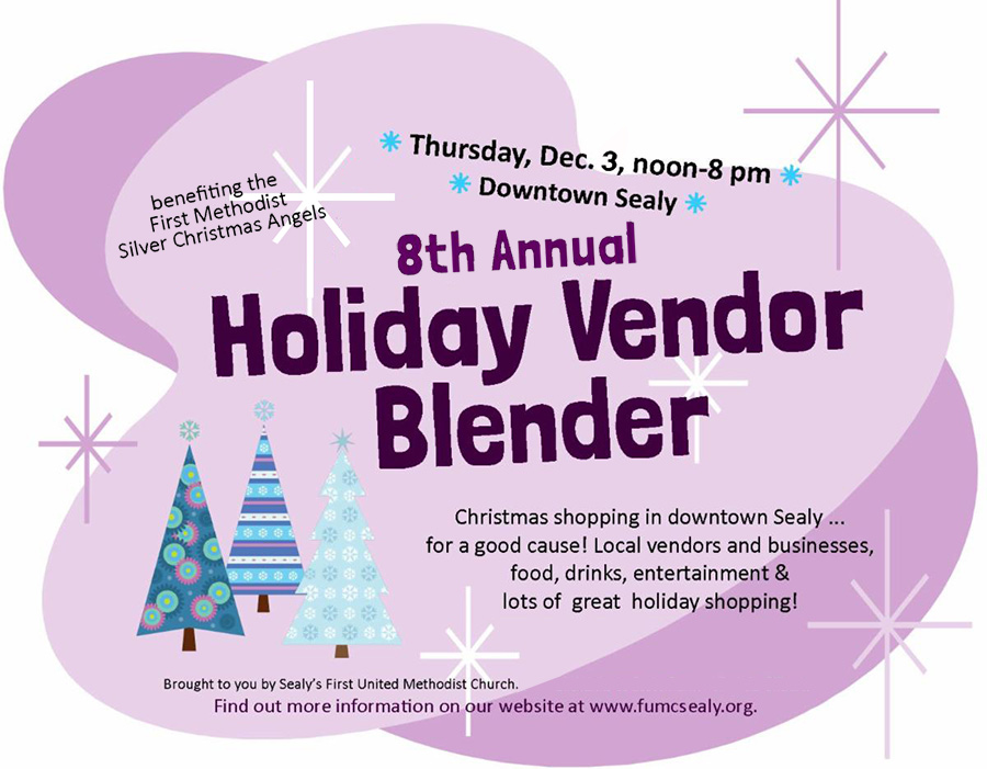 Holiday Vendor Blender