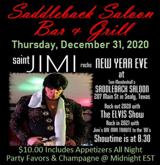 Saddleback Saloon with Saint Jimi