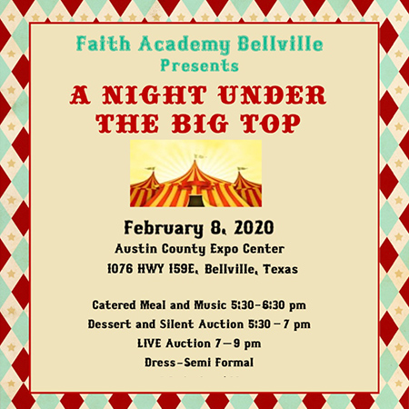 Faith Academy Big Top