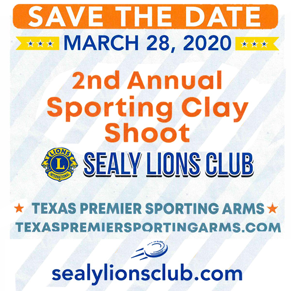 March 28 Lions Clay Shoot