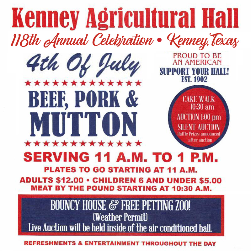 Kenney Agricultural Fourth of July Celebration