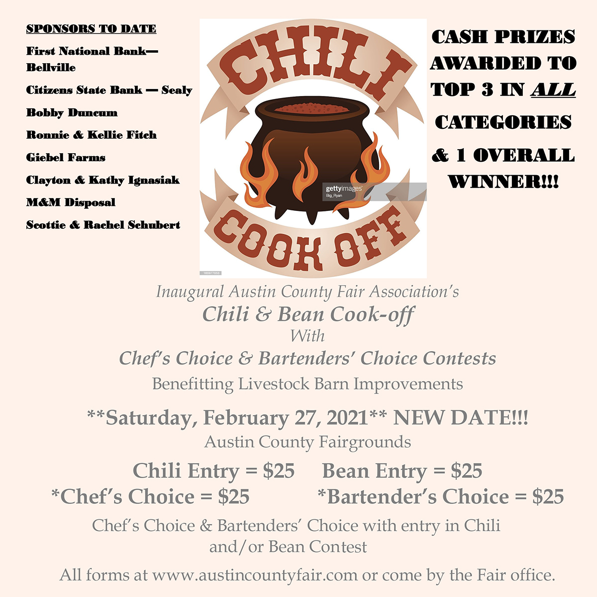 Chili Cook Off at Austin County Fair
