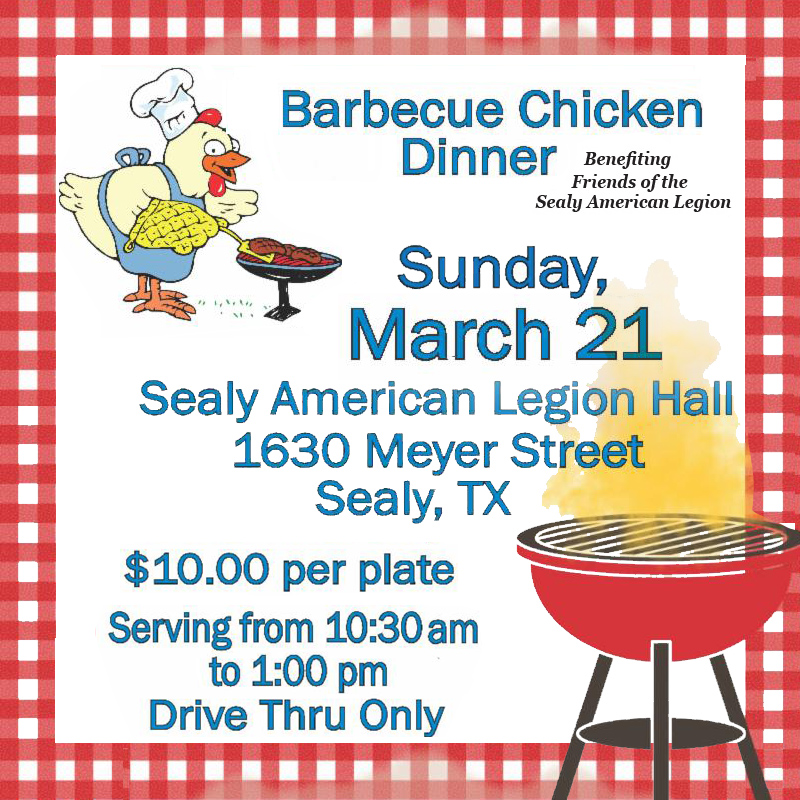Barbecue Chicken March 21