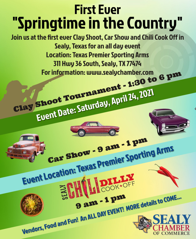 Springtime in the Country event Sealy Texas