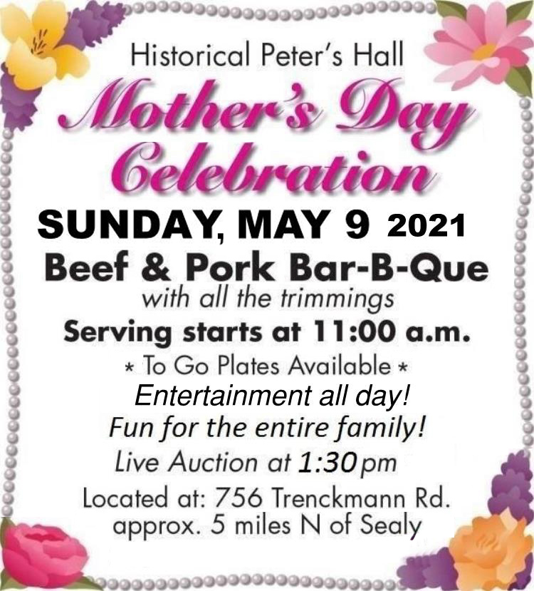Peters Hall Mothers Day Celebration