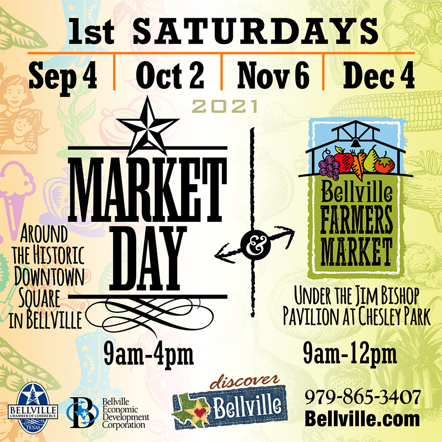 Bellville Farmers Market & Market Day Fall 2020