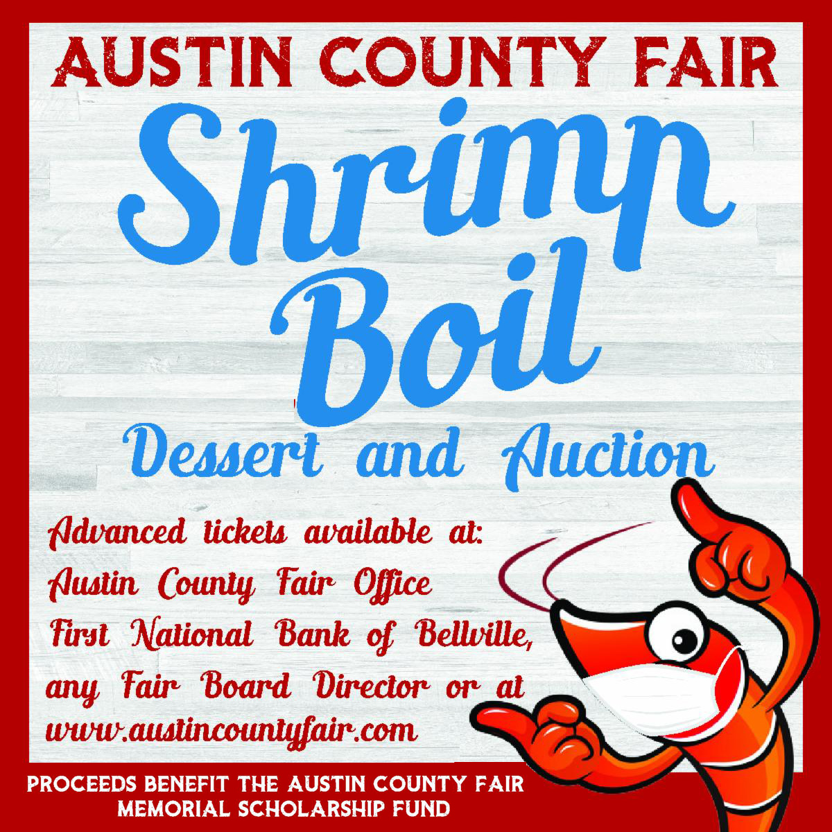 Austin County Fair Shrimp Boil
