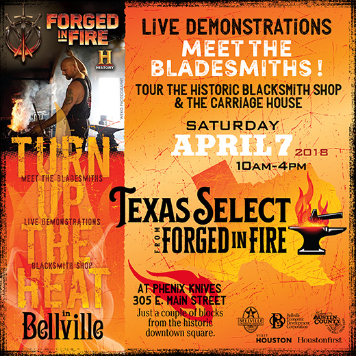 Texas Select Forged in Fire April 7