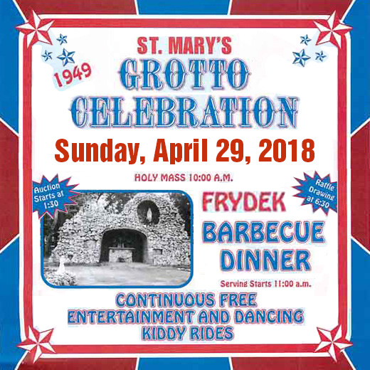 Frydek Grotto Celebration 2018