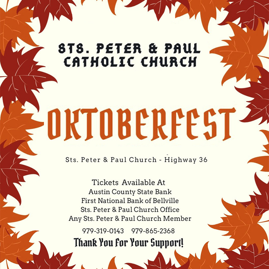 Oktoberfest St Peter Paul Catholic Church