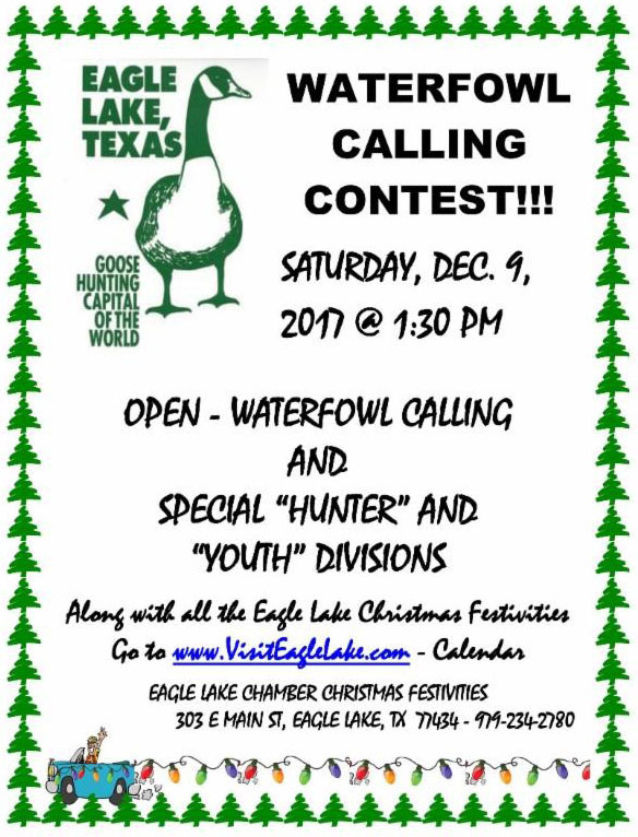 WaterFowl Contest